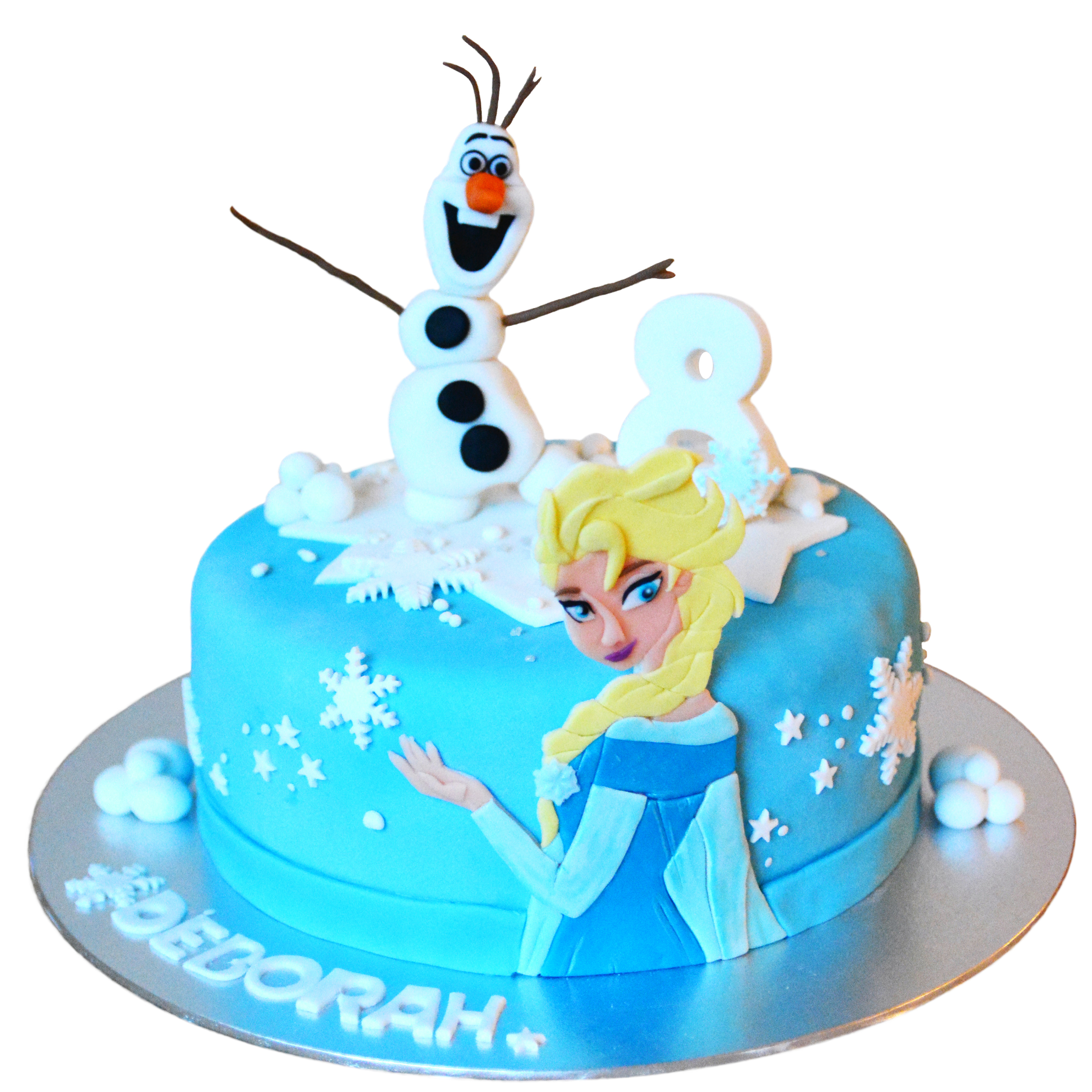 Frozen Medium Cake (1 Floor)