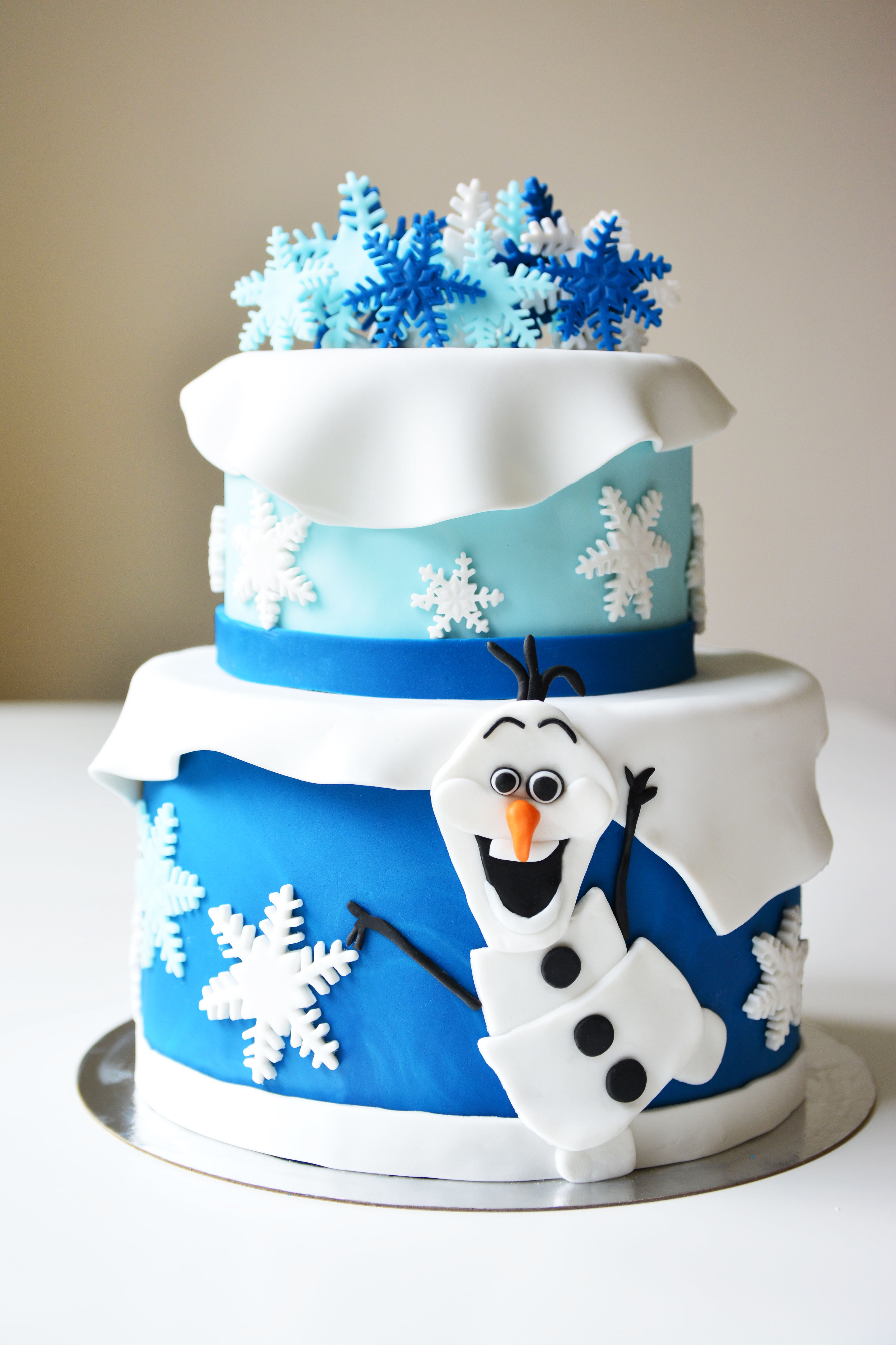 Frozen Medium Cake (2 Floors)