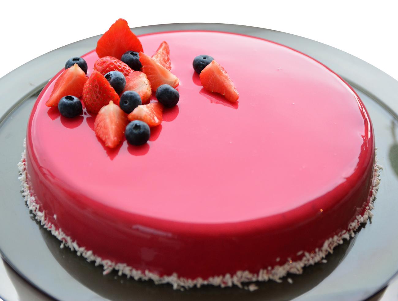 Mirror Mousse Cake